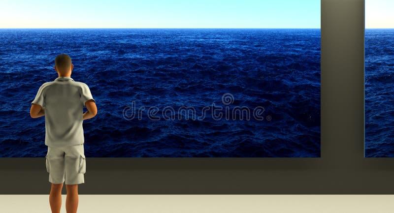 oceanside royalty ilustracja