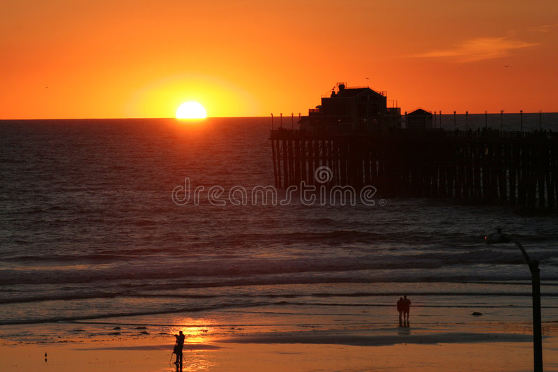 Oceanside, California immagine stock