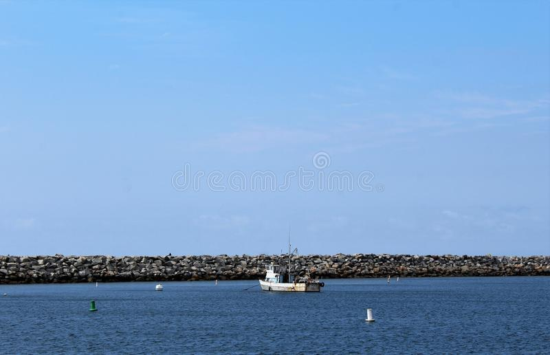 Oceanside van Portifinocalifornië in Redondo-Strand, Californië, Verenigde Staten royalty-vrije stock foto