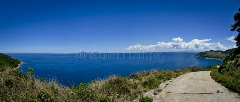 Oceansidebana arkivbilder