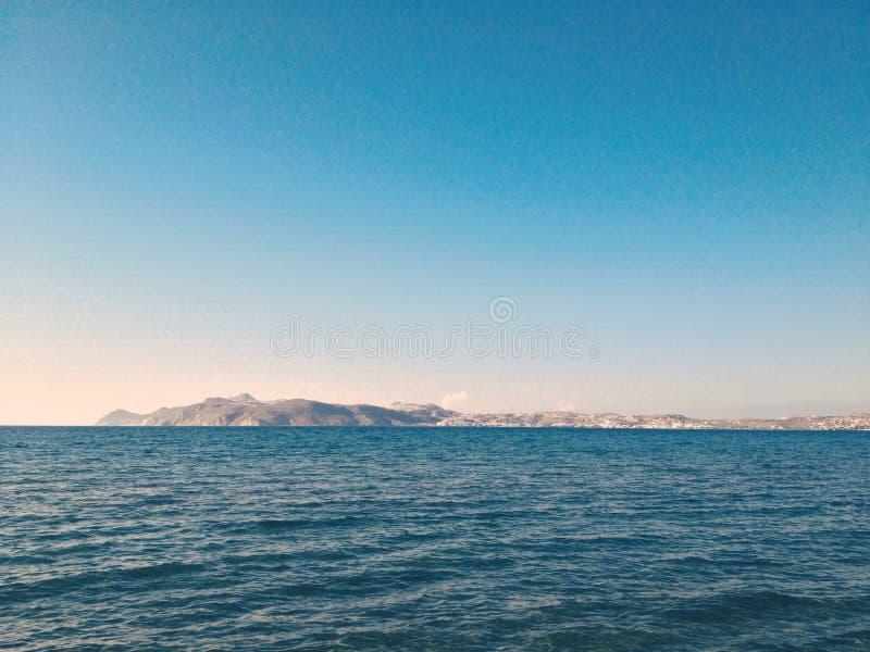 Oceanu horyzont zdjęcia stock