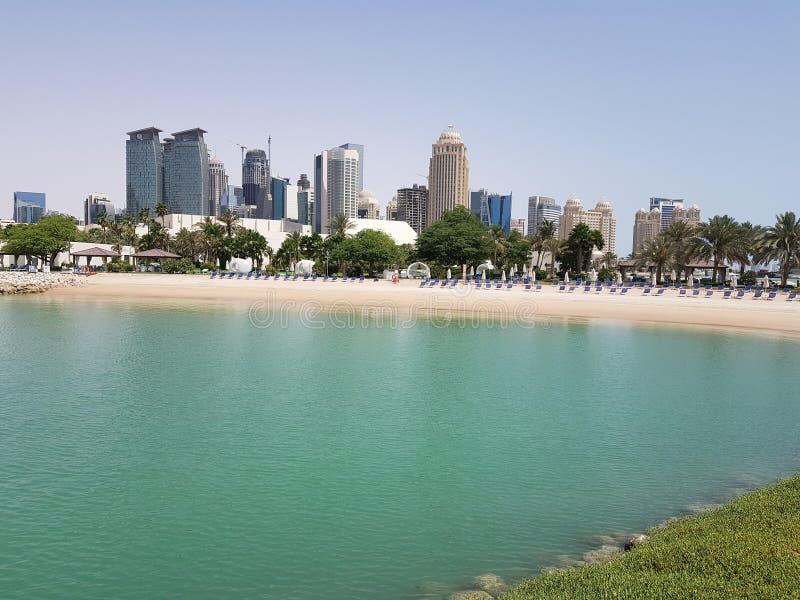 oceanu miasto zdjęcie royalty free