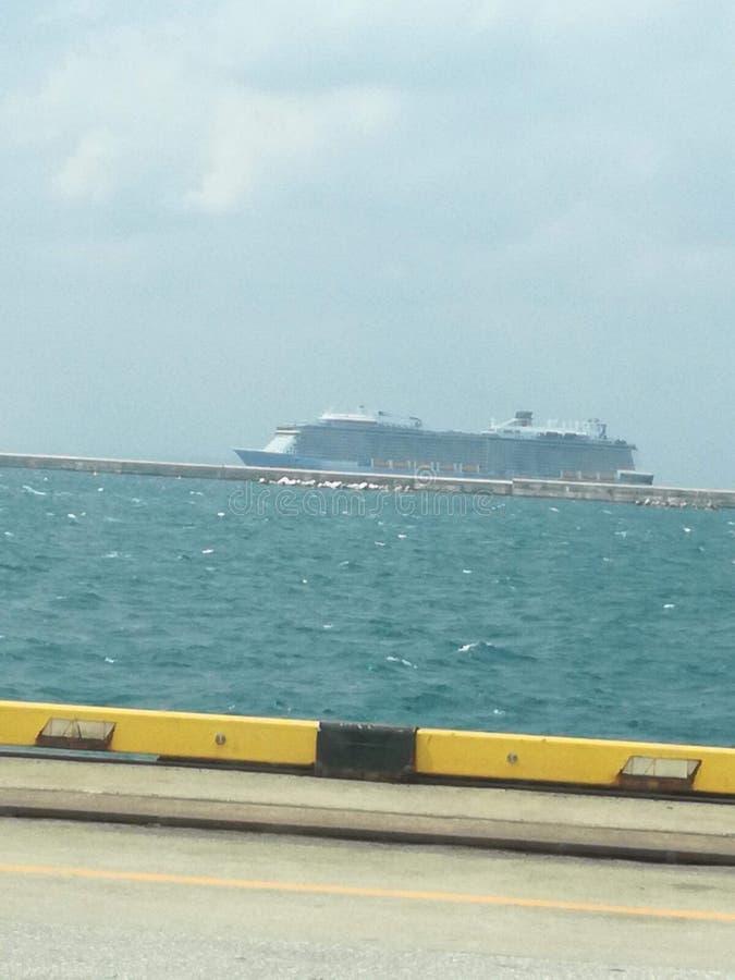 Oceanu port zdjęcia stock