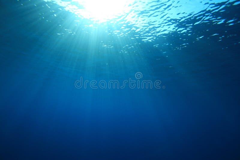 oceanu słońce zdjęcie royalty free