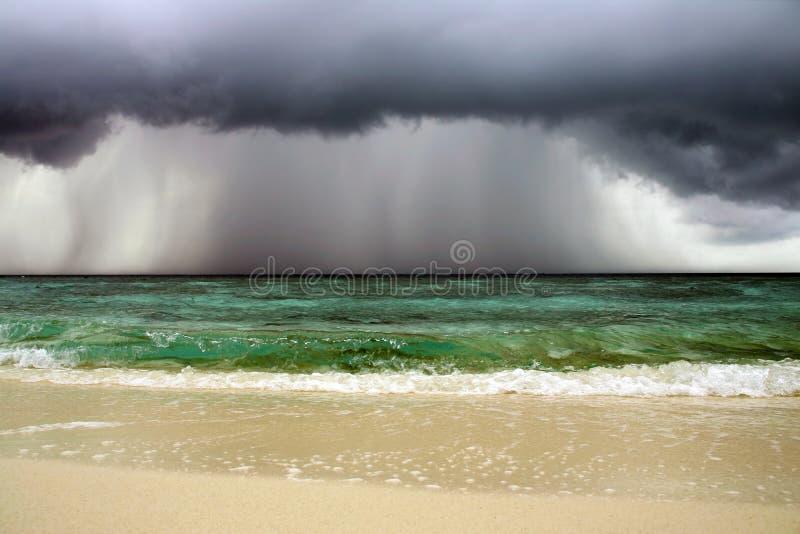 oceanu seascape burza fotografia royalty free