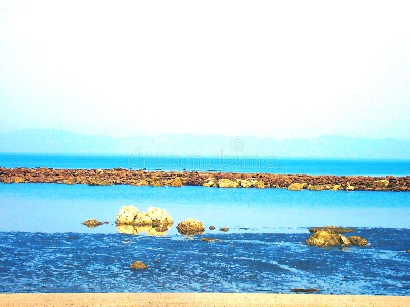 Oceanu zachwyt zdjęcia royalty free