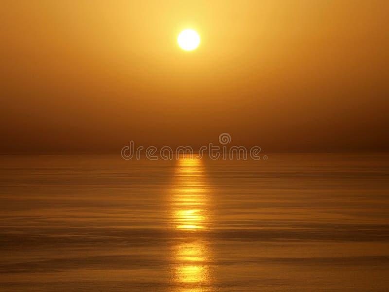oceanu zmierzch zdjęcie royalty free