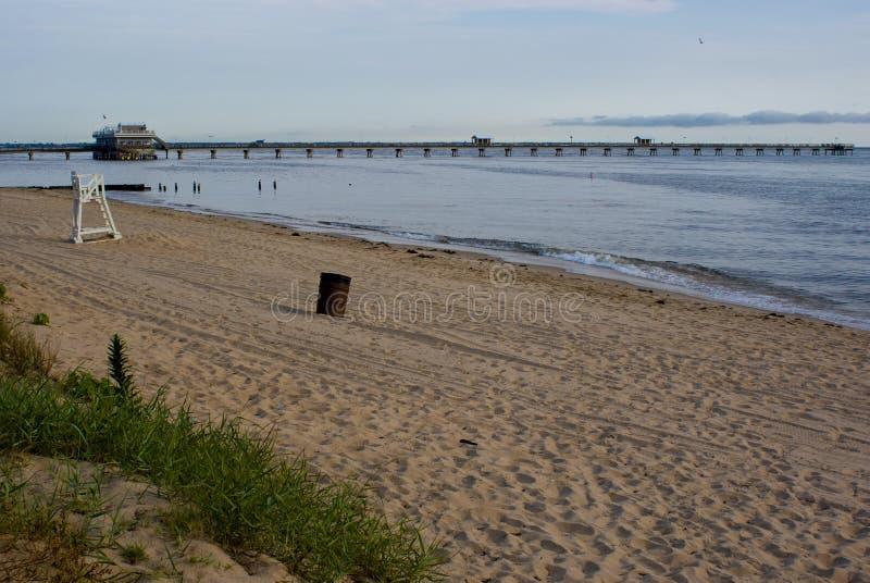 Oceanview海滩 免版税库存照片