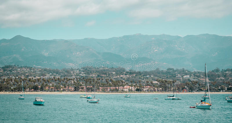 Oceanview from California Coast, United States. Photo of Oceanview from California Coast, United States royalty free stock image