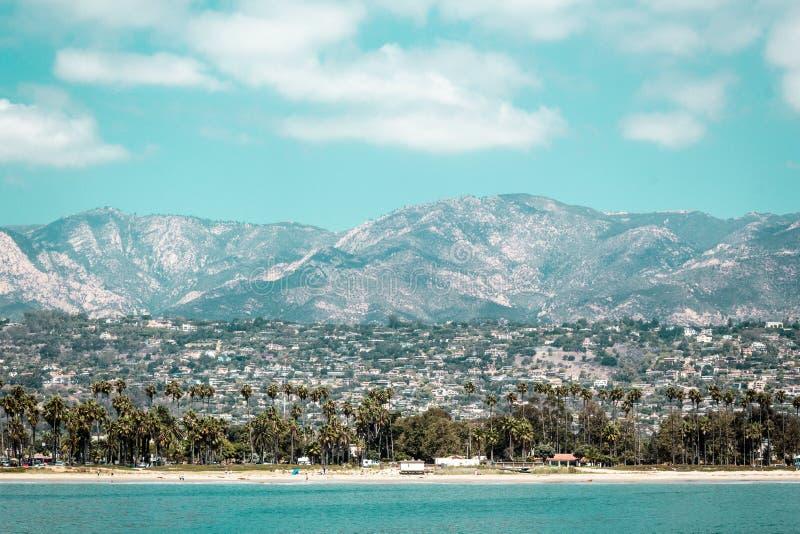 Oceanview från den Kalifornien kusten, Förenta staterna fotografering för bildbyråer