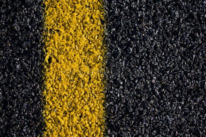 ocechowania drogi kolor żółty zdjęcia stock