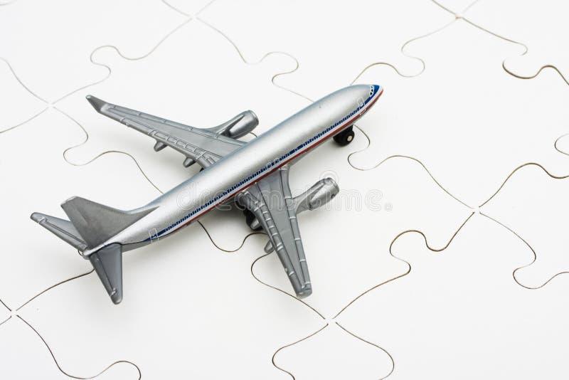 ocenia się linia lotnicza zdjęcie stock