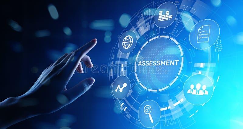 Oceny analizy Biznesowych analityka technologii pojęcia szacunkowa miara ilustracji