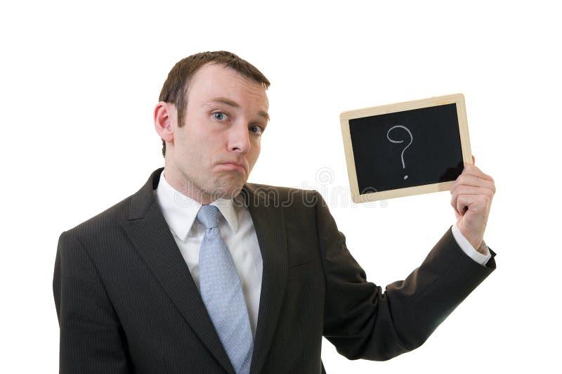 oceny biznesowy pytanie zdjęcia stock
