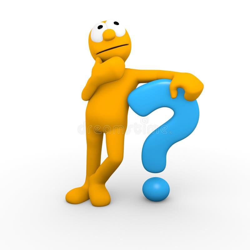 oceny pytanie ilustracja wektor