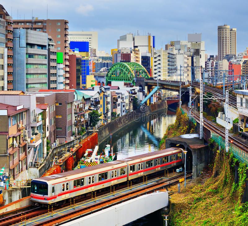 Ochanomizu,东京 免版税图库摄影