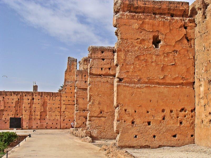 The Menara garens royalty free stock photography
