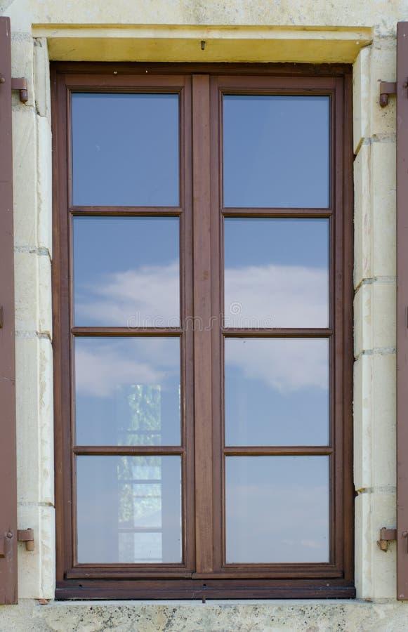 Ocho cristales de vidrio imagenes de archivo