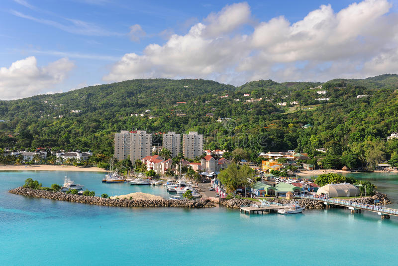 Ocho Rios in Jamaïca royalty-vrije stock foto