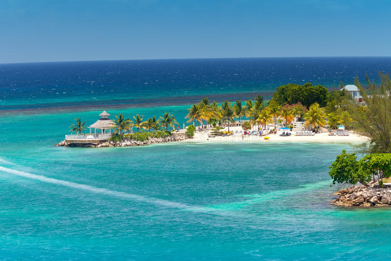 Ocho Rios, Jamaïca royalty-vrije stock fotografie