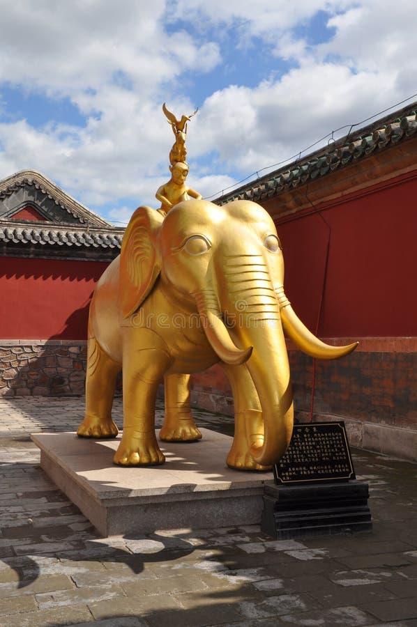 Ocho templos externos de Chengde imágenes de archivo libres de regalías