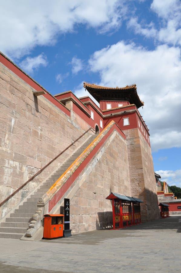 Ocho templos externos de Chengde foto de archivo libre de regalías