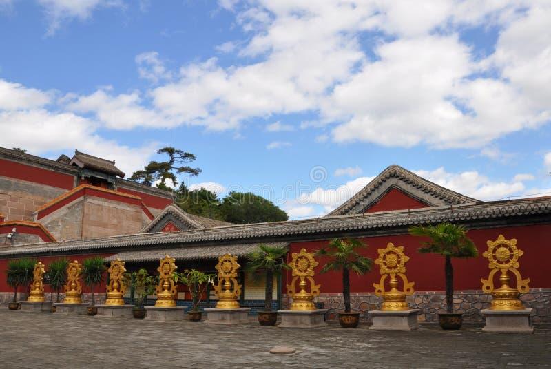 Ocho templos externos de Chengde imagenes de archivo