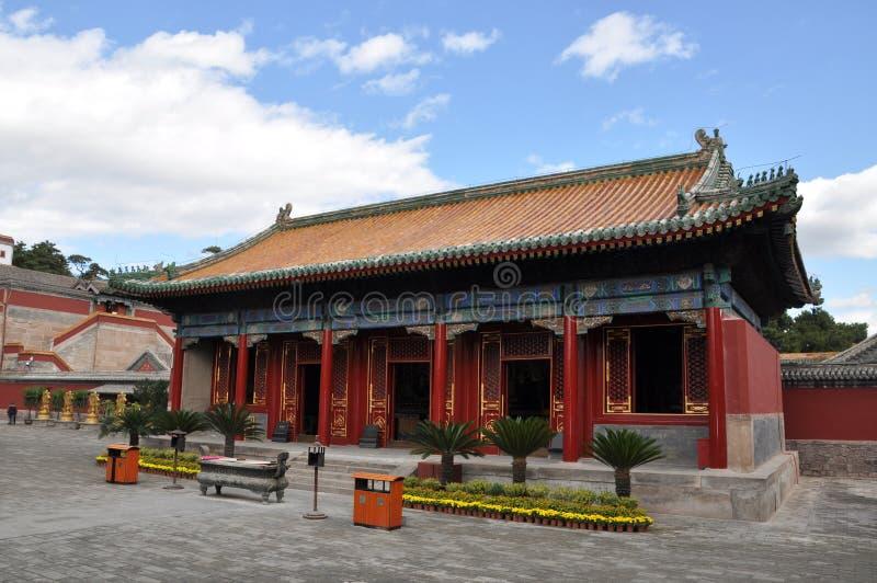 Ocho templos externos de Chengde fotos de archivo libres de regalías