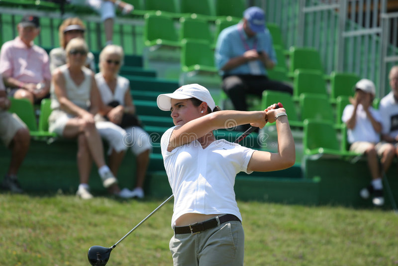 ochoa 2006 evian γκολφ κυρίων της Lorena στοκ εικόνες