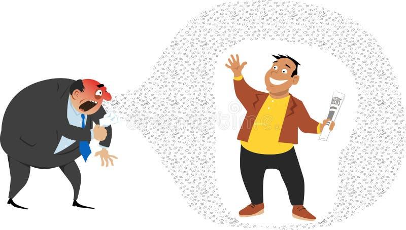 Ochraniający systemem odpornościowym ilustracji