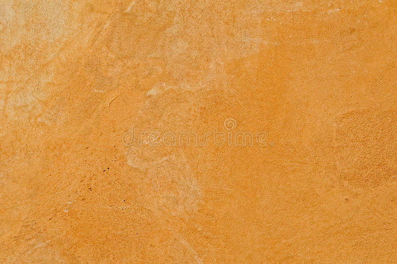 Ochre tint Tuscan texture. Tuscan texture with famous ochre tint for facades in villas and palazzos royalty free stock images