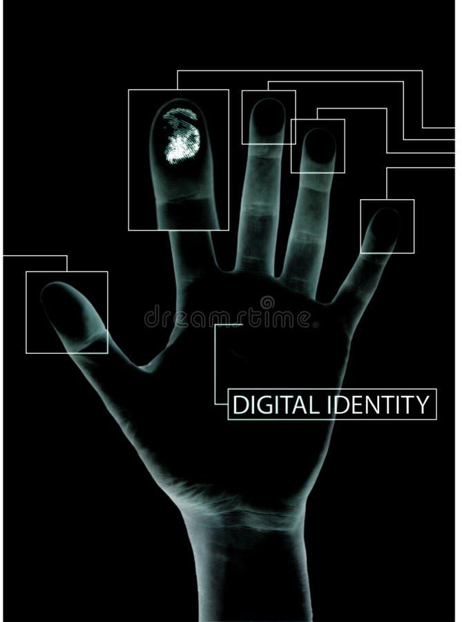 ochrona cyfrowa royalty ilustracja
