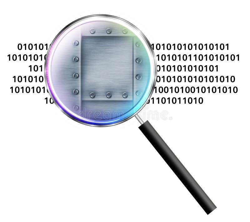 ochrona danych ilustracji