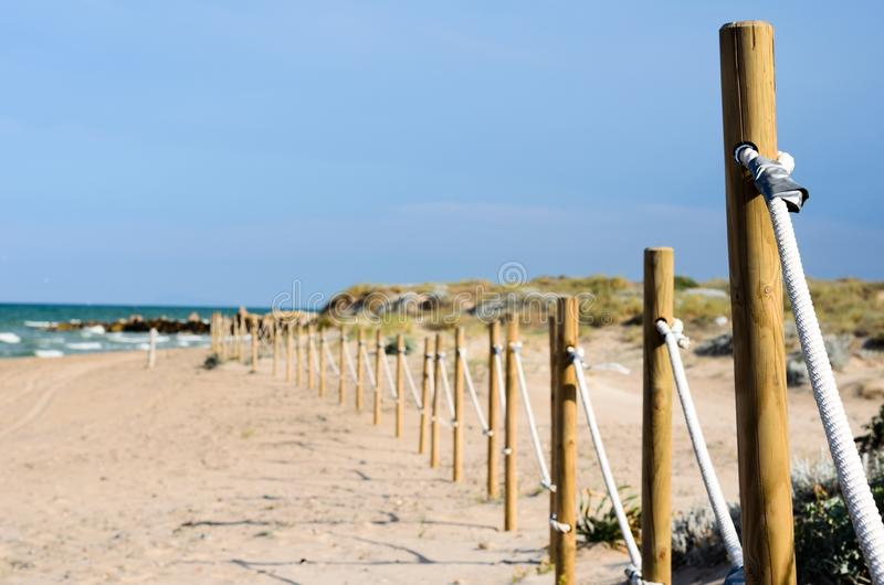 Ochrona na plaży obraz stock