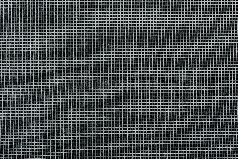 Ochronna plastikowa siatka z małymi komórkami w górę abstrakcji tła, obrazy stock