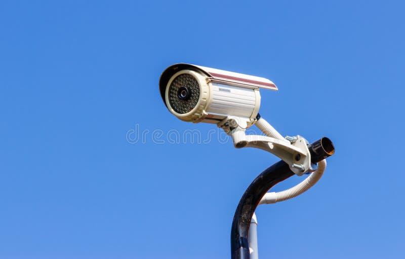 Ochrony CCTV kamera zdjęcia stock