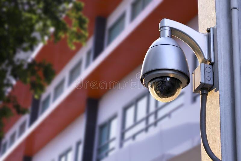 Ochrony CCTV kamera zdjęcie stock