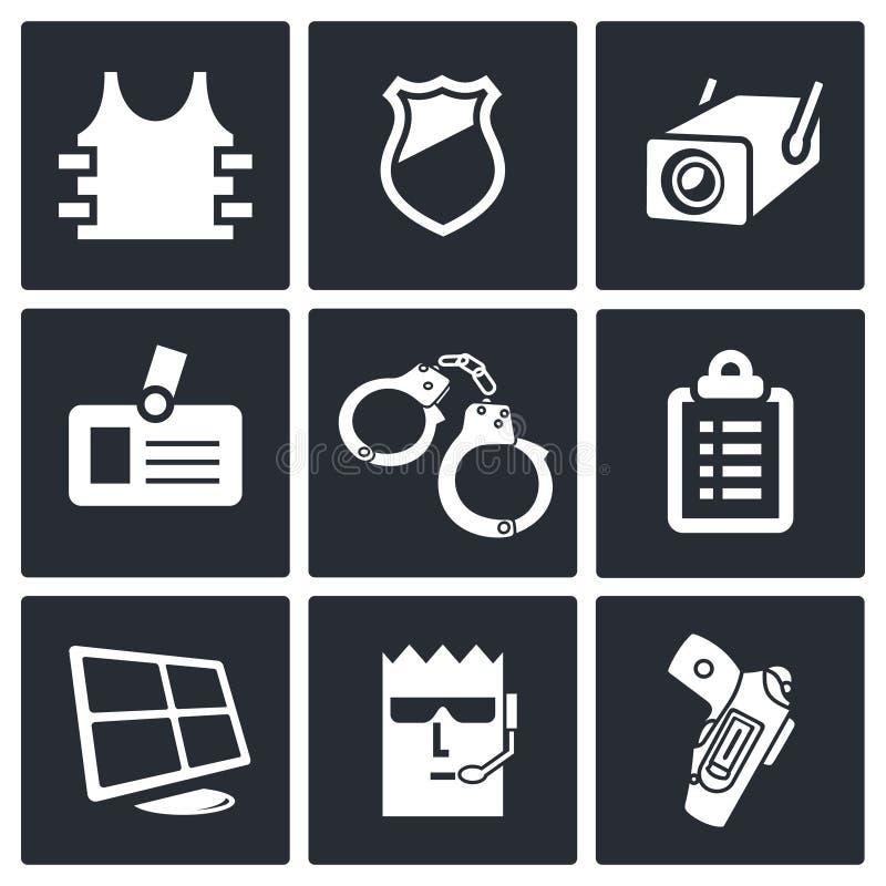 Download Ochrony ikony kolekcja ilustracji. Ilustracja złożonej z dostęp - 42525539