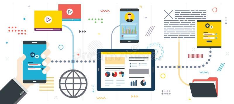 Ochrony zarządzanie projektem i analiza ilustracji