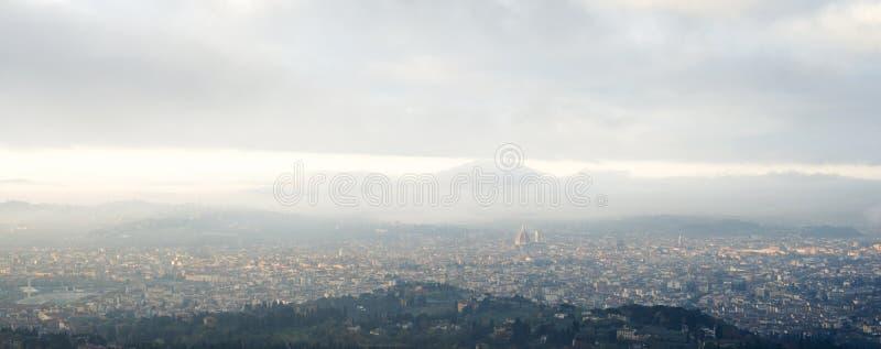 Ochtend in Florence royalty-vrije stock afbeeldingen