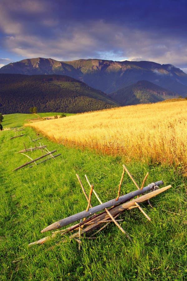 Ochtend in Hoge Tatras (Vysoké Tatry) stock afbeelding