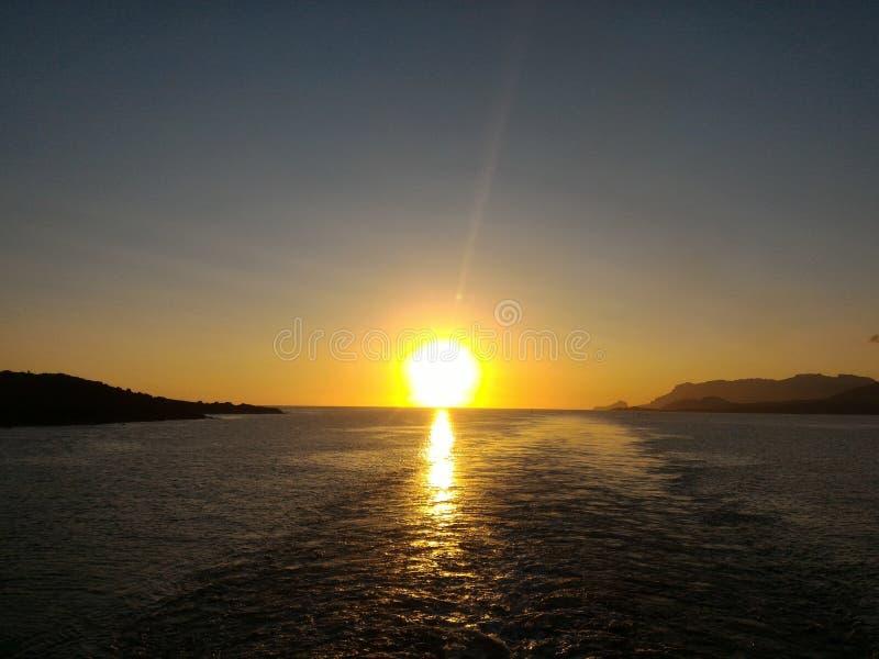Ochtendmacht van zonsopgang royalty-vrije stock afbeelding