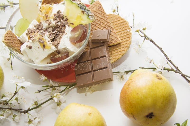 Ochtendontbijt in bloei stock afbeelding