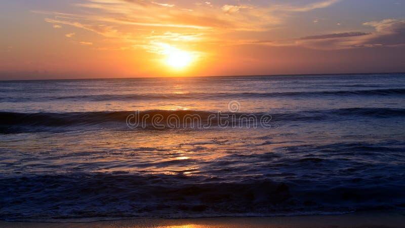 Ochtendschoonheid van strand royalty-vrije stock foto