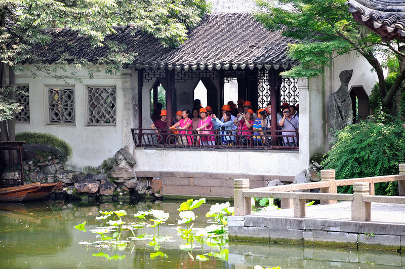 Ociągający się ogród zdjęcie stock