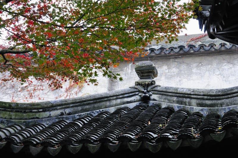 Ociągający się ogród w Suzhou fotografia stock