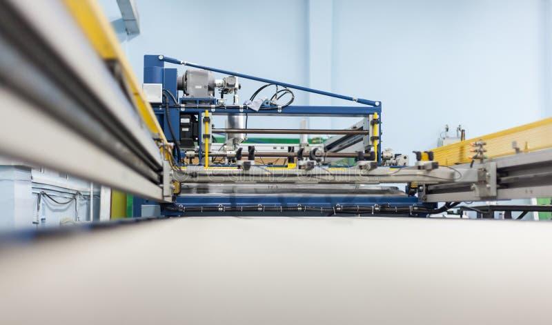 Ociągający się system drukowa prasa fotografia stock