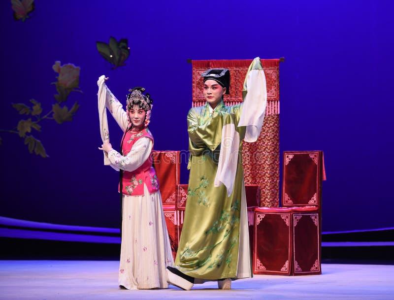 """ ocidental de Chamber†do """"the de Opera do mestre e do empregado-Kunqu fotos de stock royalty free"""