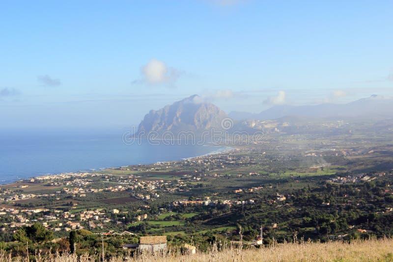 Ocidental de Sicília foto de stock royalty free