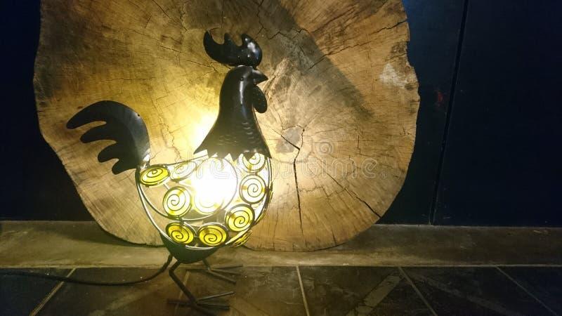 Ocienia światło od kurczaka lampionu Od ar obrazy royalty free